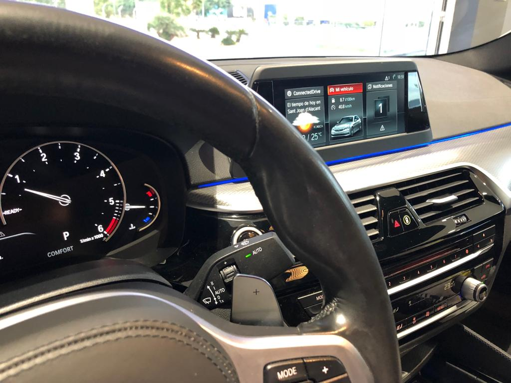Interior BMW 530