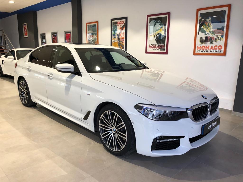 BMW 530 blanco