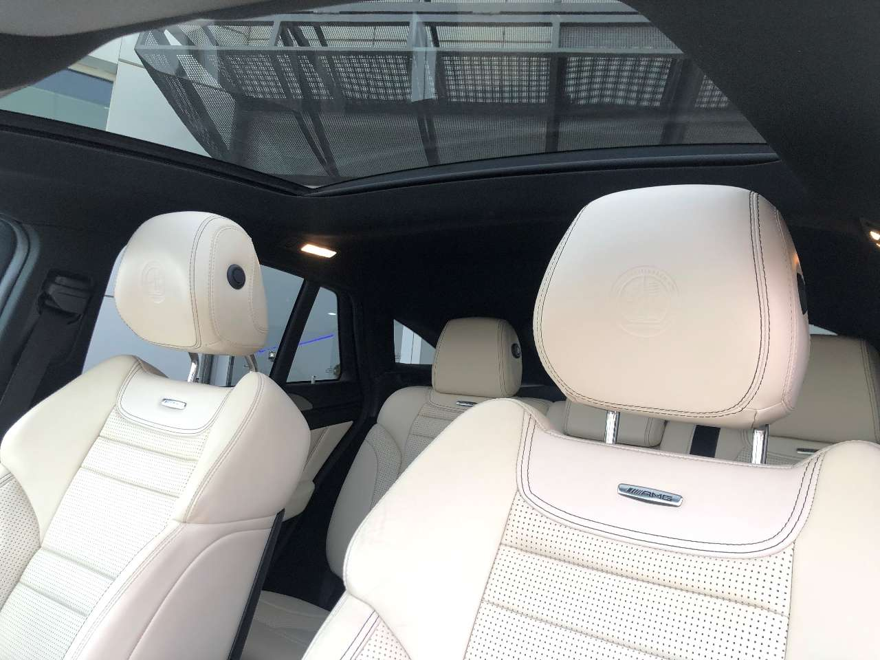 Mercedes Benz GLE 63 AMG S Asientos